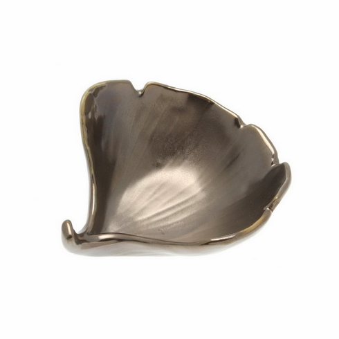 Gold Luster Ginkgo Sauce Bowl
