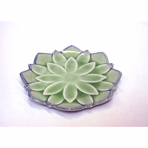 """Green Dahlia Dish<font color=red><i>""""Out of Stock""""</i></font>"""