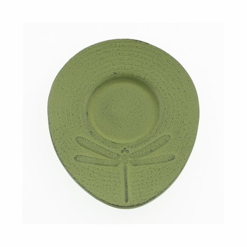 Green Dragonfly Cast Iron Coaster