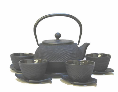 Hobnail Design Cast Iron Teapot Set Series