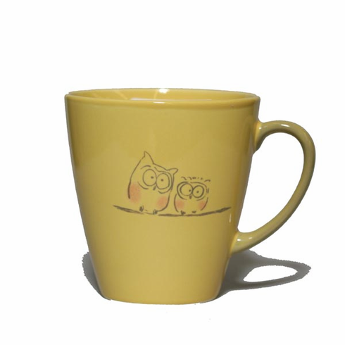 Hoot Owls on a Branch Mug, 12 oz.