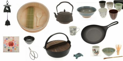 ceramic dinnerware, teaware, kitchenware, sushi making supplies at zensuke.com
