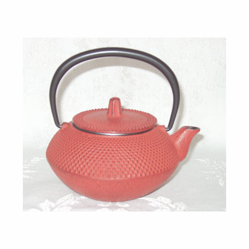 "Iwachu Red Hobnail Cast Iron Teapot 12 oz.<font color=red><i>""Out of Stock""</i></font>"