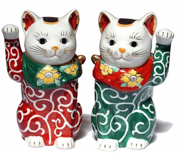 Lucky Cats - Cloisonne - Shippoyaki - Accessories