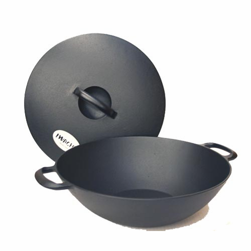 Multi-Purpose Cast Iron Pans <br>with Lid by Iwachu