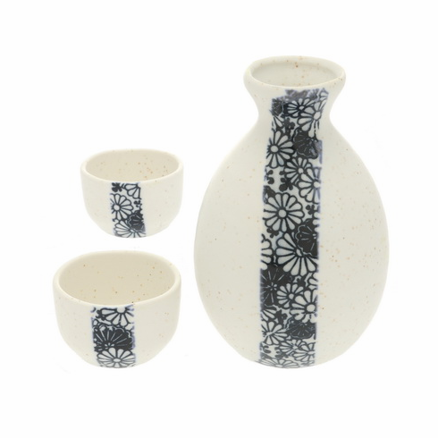Mums Sake Container & 2 Cups Set