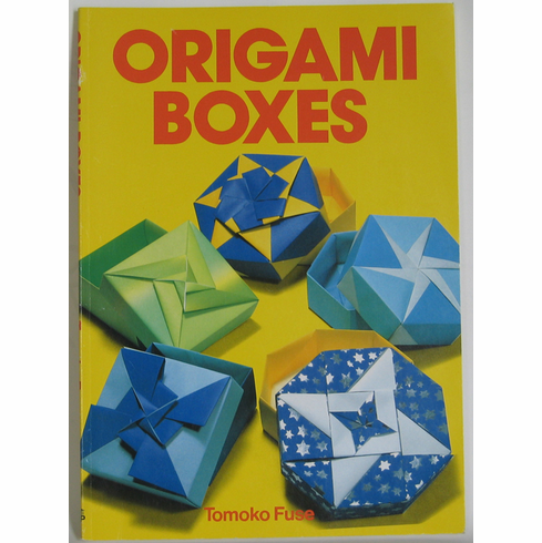 """Origami Boxes by Tomoko Fuse<font color=red><i>""""Out of Stock""""</i></font>"""