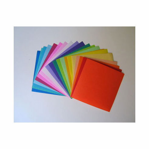 """Pack of 3"""" Sq. Origami Paper 500 Sheets"""