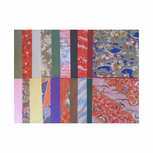 """Pack of 6"""" Sq. Yuzen Chiyogami <br> Origami Paper 20 Sheets"""
