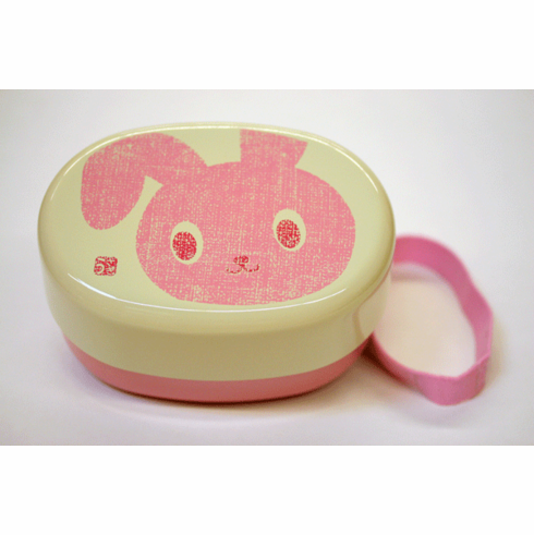Pink Bunny Bento/Lunch Box