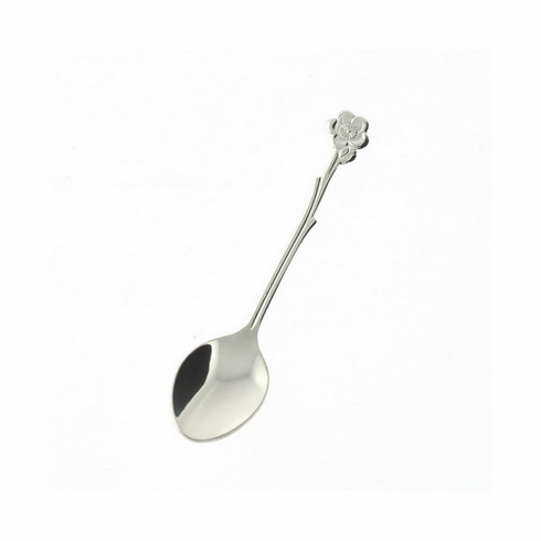 Plum Blossom Branch Stainless Steel Spoon