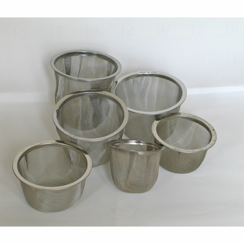"""Stainless Steel Infuser Baskets, 2-13/16"""", 2-15/16"""" or 3-1/8"""""""