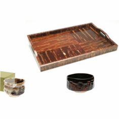 Tea Ceremony Items - Wooden Trays