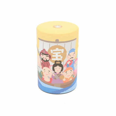 Treasure Ship Tea Canister, Holds 100 Grams