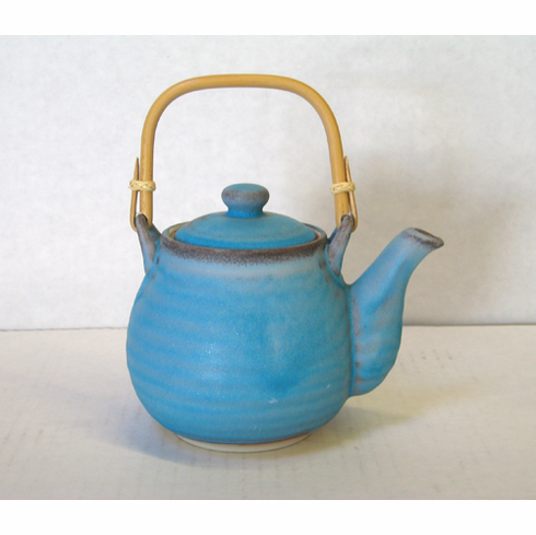 """Turquoise Teapot, Holds 24 oz.<font color=red><i>""""Out of Stock""""</i></font>"""
