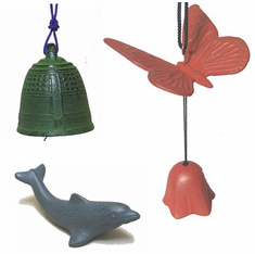 Wind Chimes - Paper Weights - Tea &  Incense Burners
