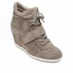 best seller ASH Bowie Cocco Suede Wedge Sneaker