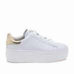 best seller ASH Cult White Ariel Leather Sneaker
