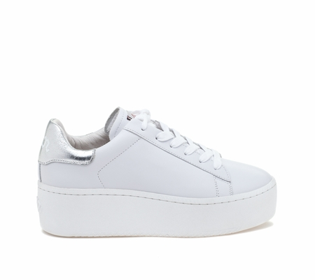 ASH Cult White Moon Leather Sneaker