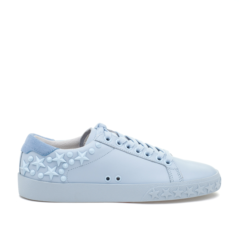 ASH Dazed Ice Blue Leather Sneaker