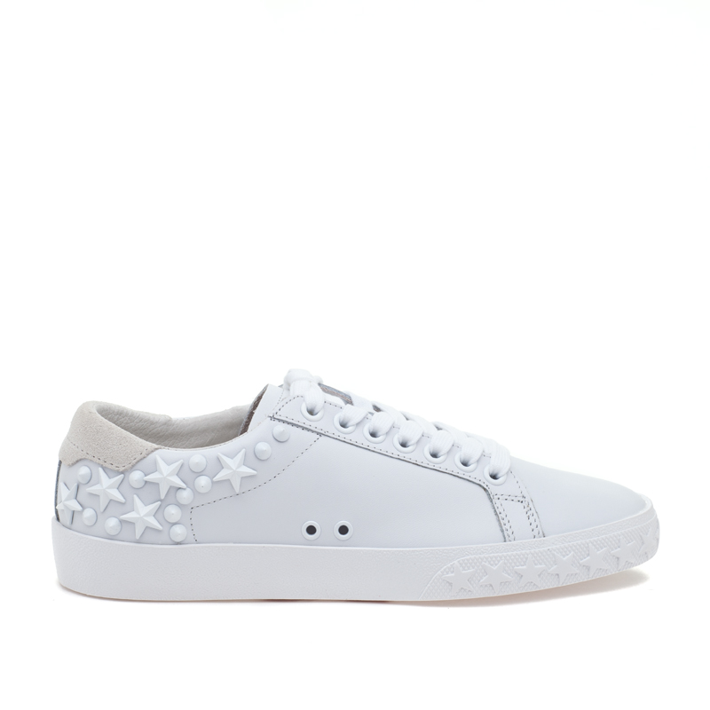 ASH Dazed Snow White Leather Sneaker
