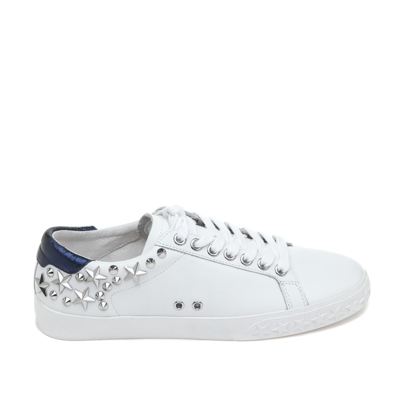 ASH Dazed White Midnight Leather Sneaker