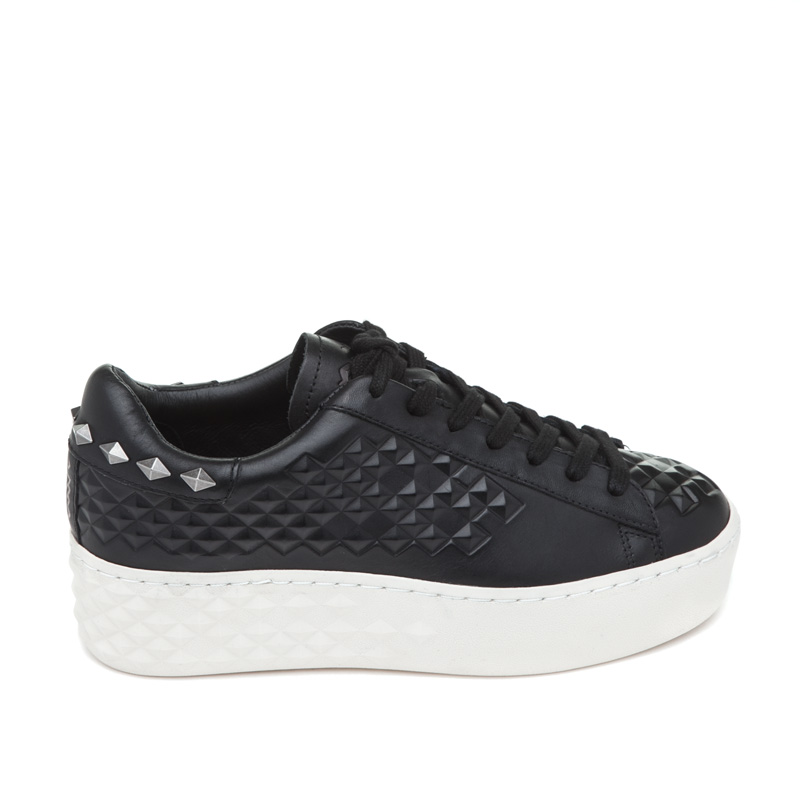 ASH Dejay Black Leather Sneaker