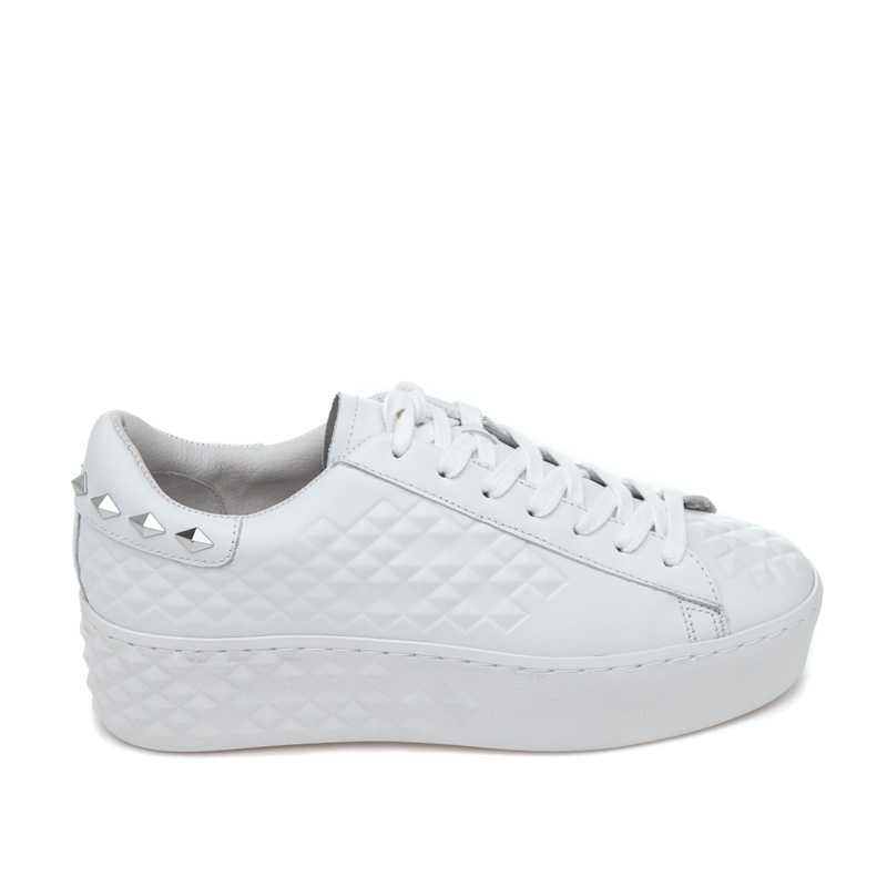 ASH Dejay White Leather Sneaker