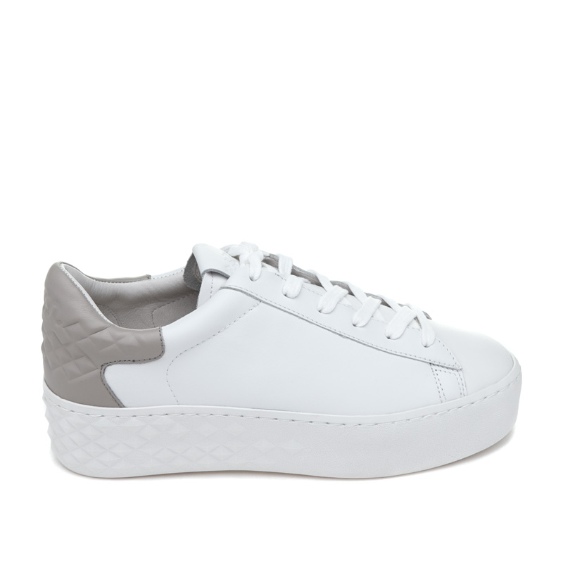 ASH Detox White String Leather Sneaker