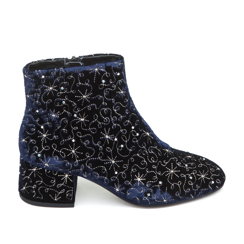 ASH Diamond BIS Midnight Velvet Boot