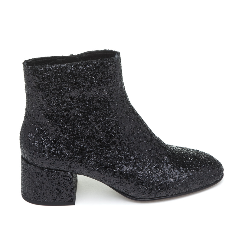 ASH Dragon Black Glitter Boot