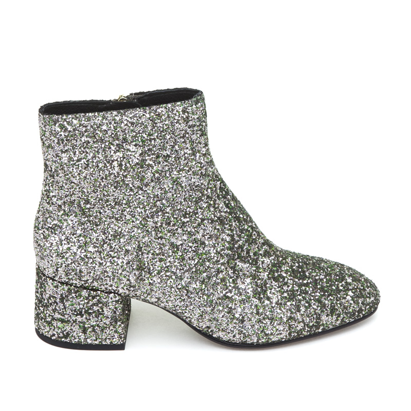 ASH Dragon Green Tea Glitter Boot