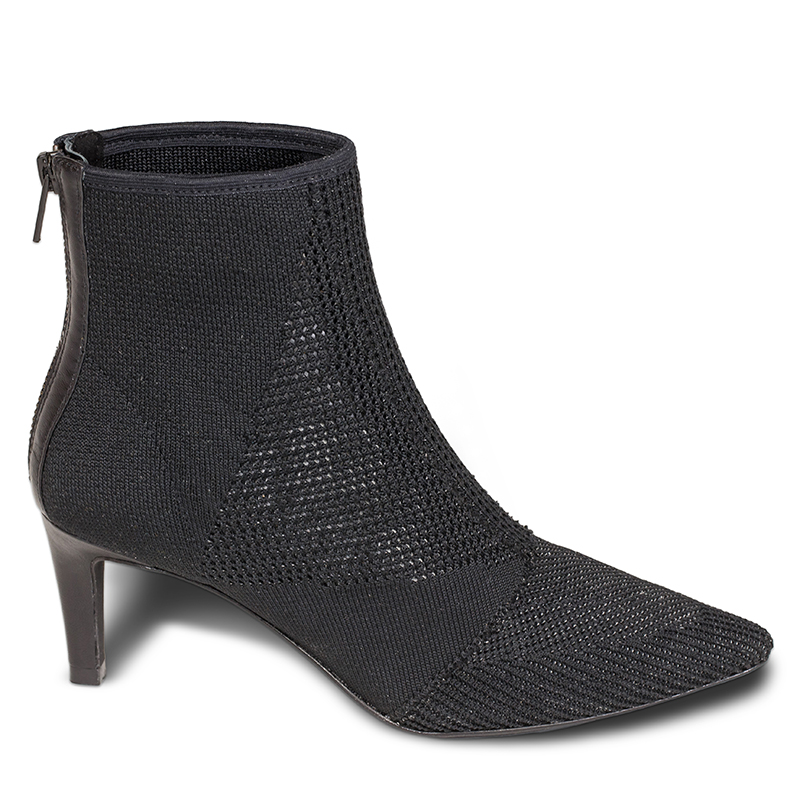ASH Dream Boot Black Mesh Fabric 360001 (964)