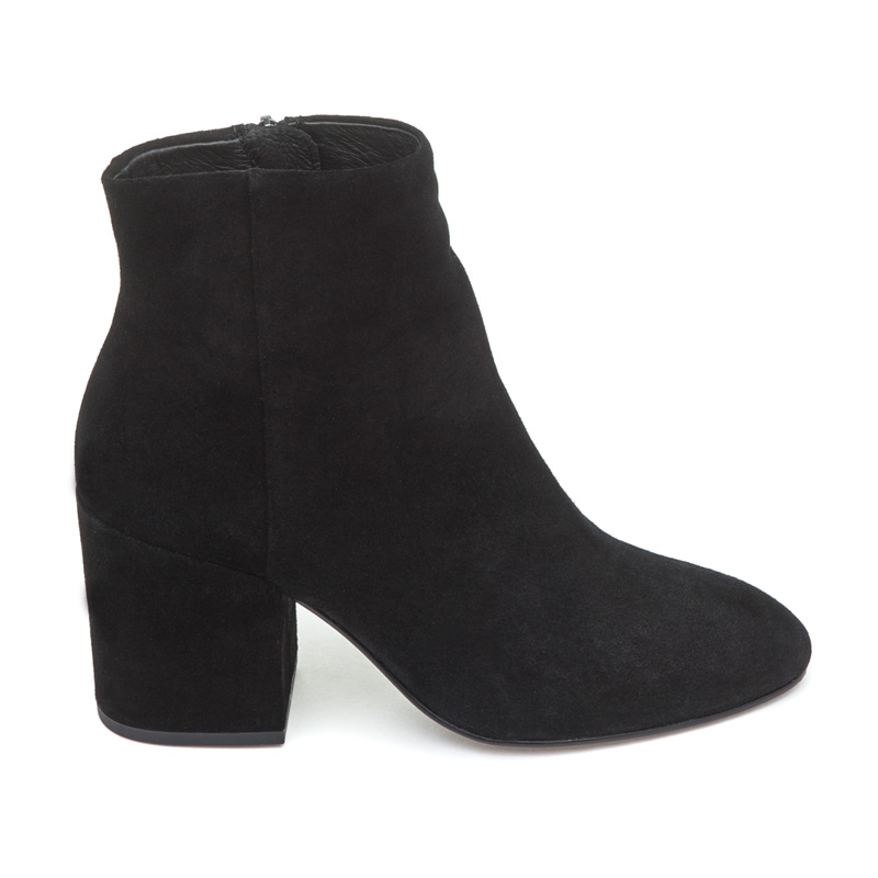 ASH Eden Black Suede Boot
