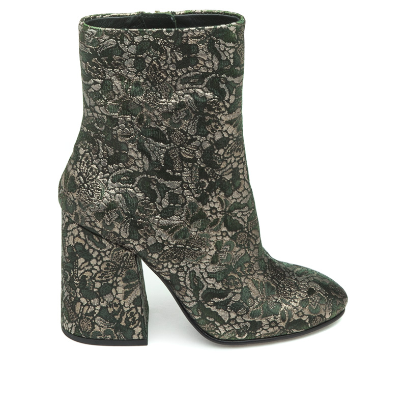 ASH Fedora Moss Fabric Boot