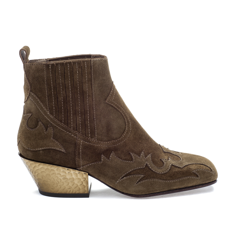 ASH Ginger BIS Russet Suede Boot