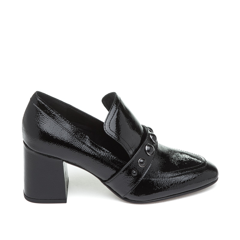 ASH Heloise Black Patent Leather Pump