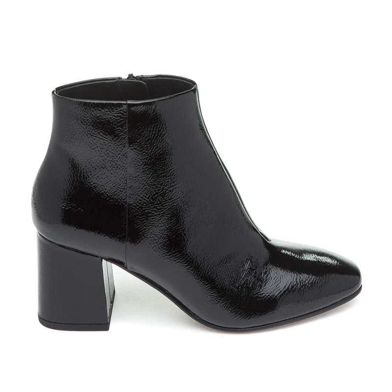ASH Heroin Black Patent Leather Boot