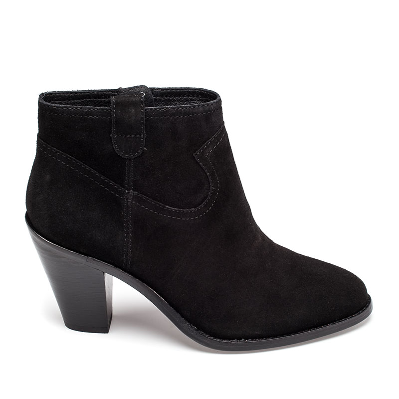 ASH Ivana Boot Black Suede 360314 (001)
