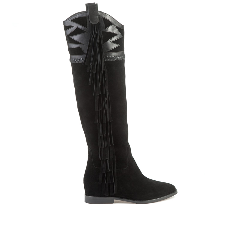 ASH Jezabel Black Suede Boot