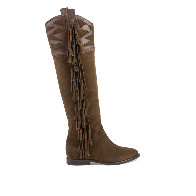 ASH Jezabel Russet Suede Boot