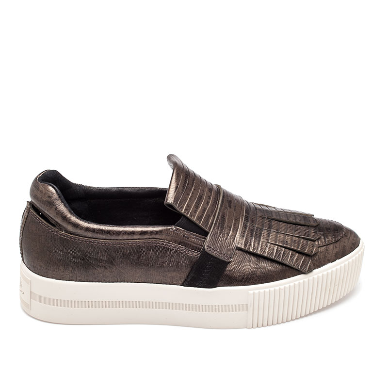 ASH King Womens Slip On Army Bronze Leather 360301 (348)