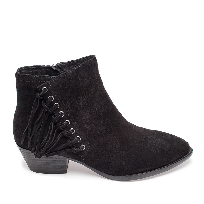 ASH Lenny Boot Black Suede 360265 (001)