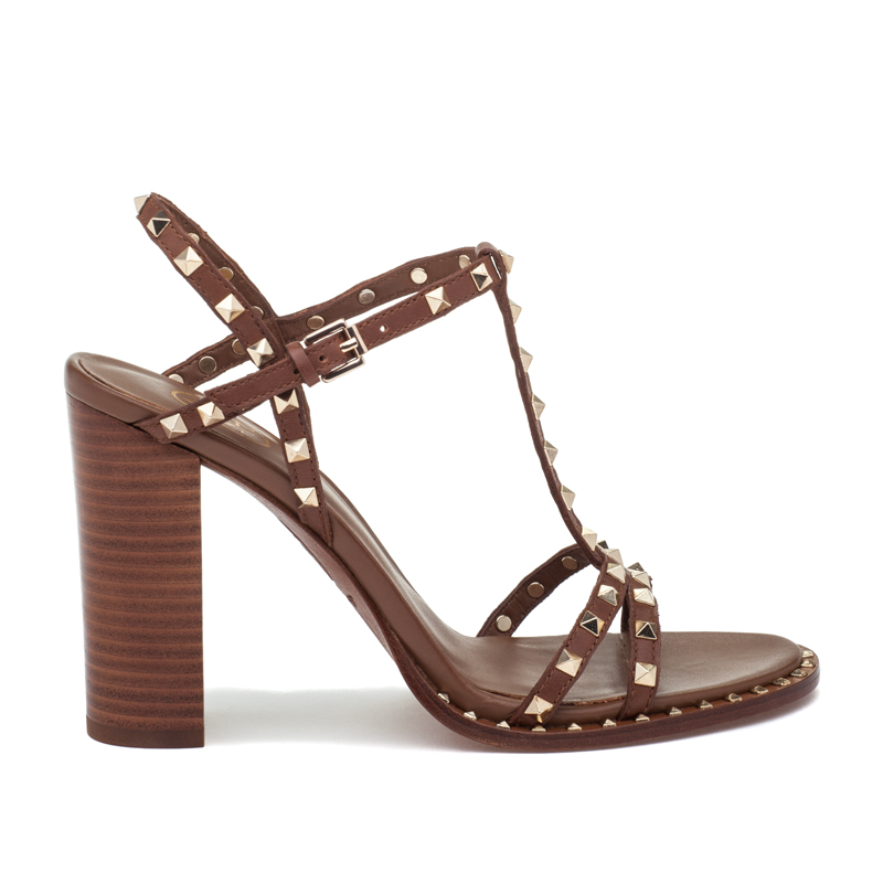 ASH Lips Cuoio Leather Sandal
