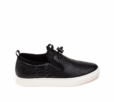 ASH Loops Mens Sneaker Black  Snake Print Leather 360389 (964)