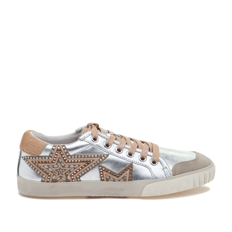 ASH Magic Silver/BG Silver Leather Sneaker