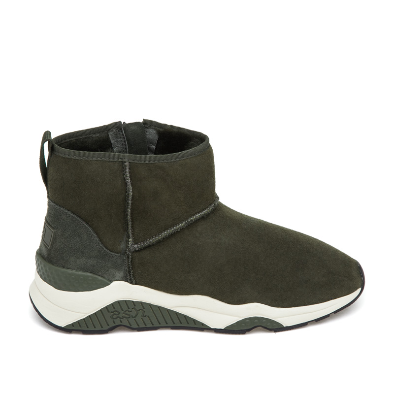 ASH Miko Military Suede Boot