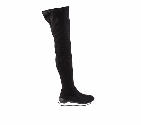 ASH Miracle Womens Black Faux Suede Boot 360361 (002)