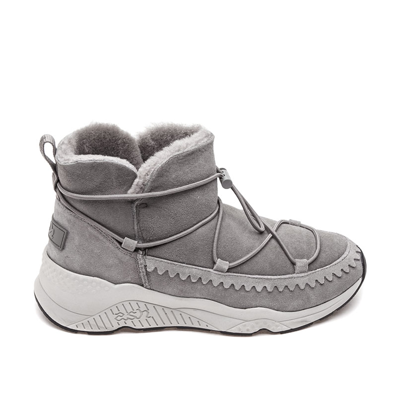 ASH Mitsouko Womens Boot Grey Suede 360407 (070