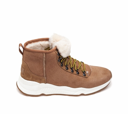 ASH  Monk Mens Boot Camel Leather 360394 (266)